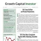Growth Capital Investor - September issue