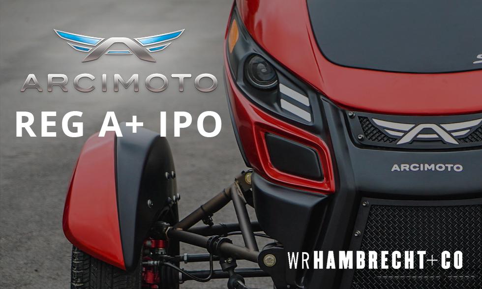 Arcimoto IPO